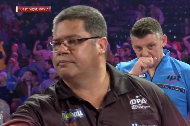 Darts player coughs on purpose to distract his opponent (WRGMG #16)
