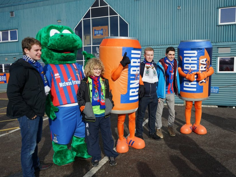 "Pun of the Year: Scottish Football Team Names his Mascot ""Lionel Nessi"""